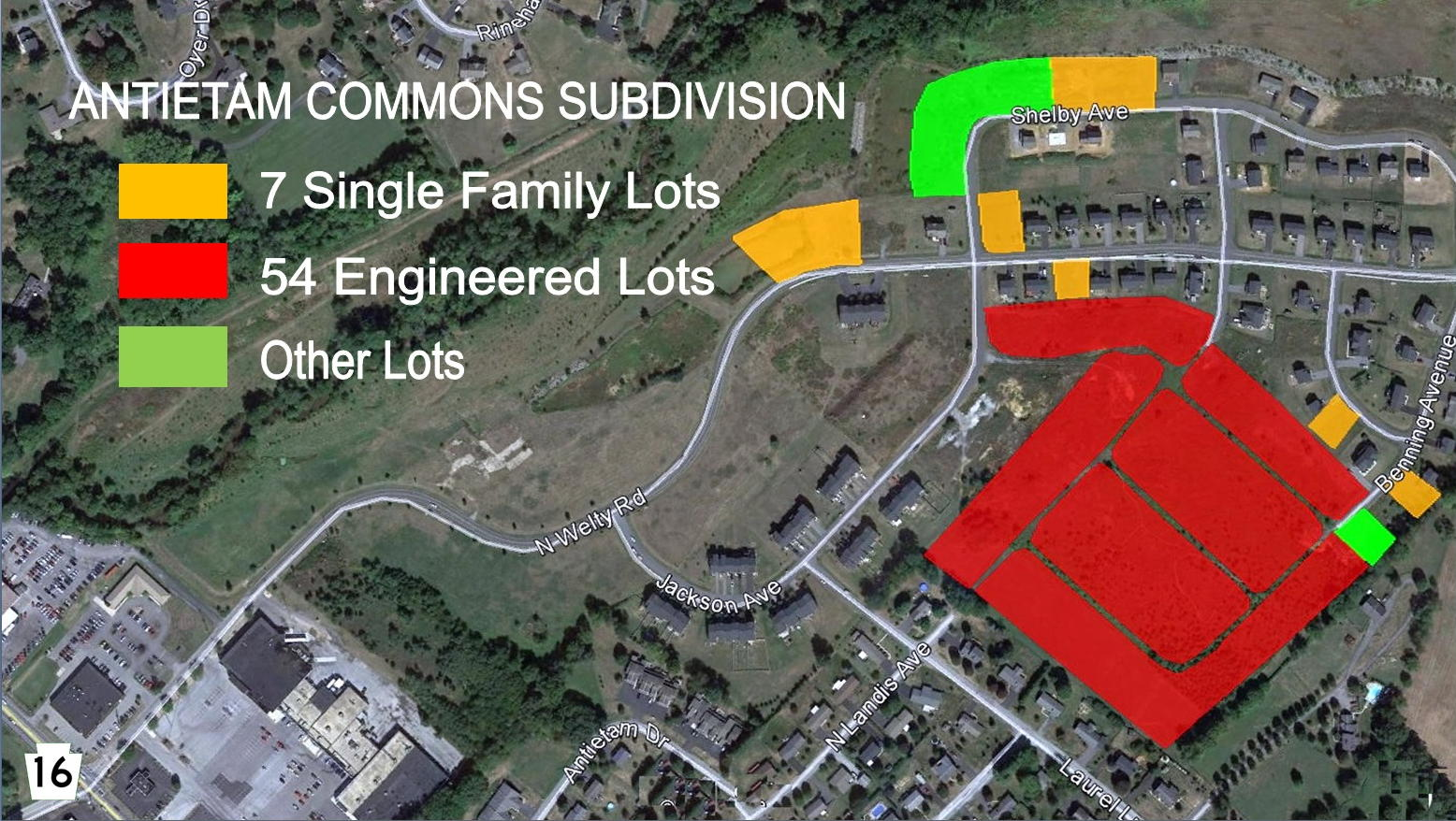 38+-ACRE SUBDIVISION-WELTY RD