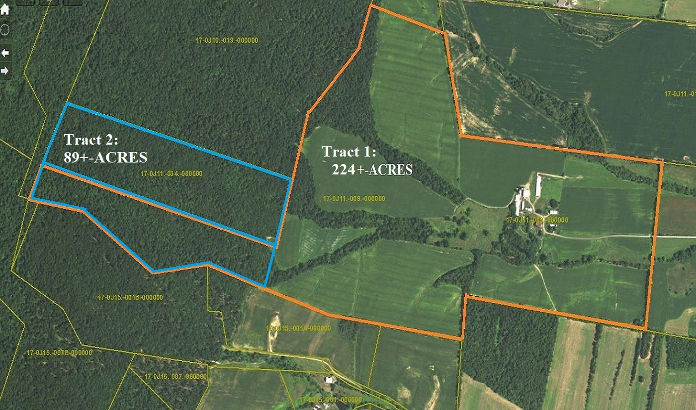 10157 CORNER ROAD-TRACT 1 (224+-ACRE FARM)